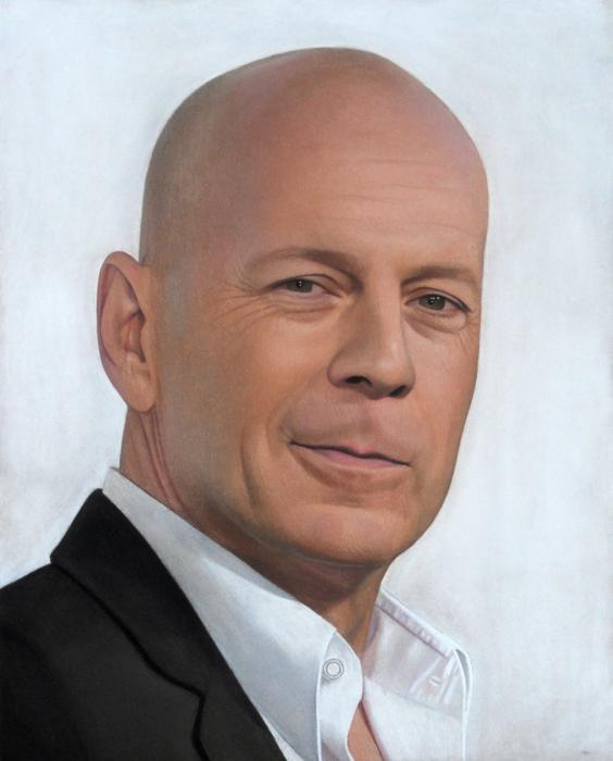 Bruce Willis by Lizapoly